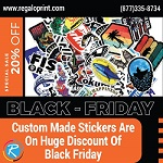 RegaloPrint Is The Best Ever Printing Company To Fulfill Your Stickers Printing Requirements In Lowest Rates!