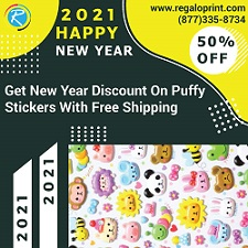 New Year Discount Offer by RegaloPrint