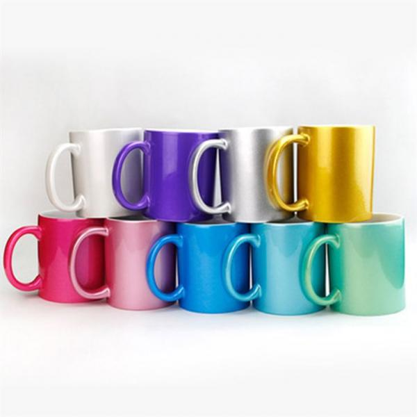Sublimation Glitter Mugs