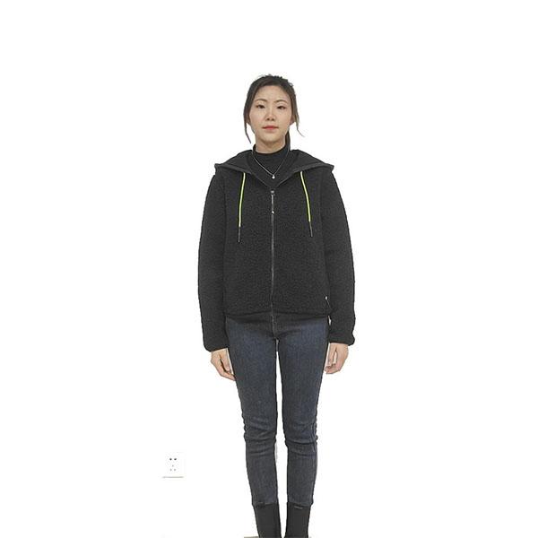Polyester Sherpa Fleece Jacket